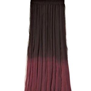 ANTHROPOLOGY | ombré maxi skirt
